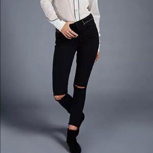 Free People Distressed Women's Payton Skinny Jeans
